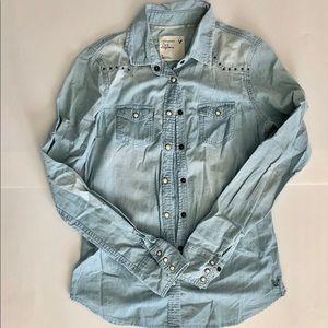 American Eagle denim shirt